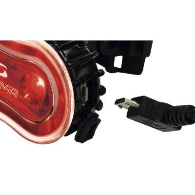 【即納】【現品特価】シグマSTEREOREARLIGHTテールライトUSB充電/乾電池両対応