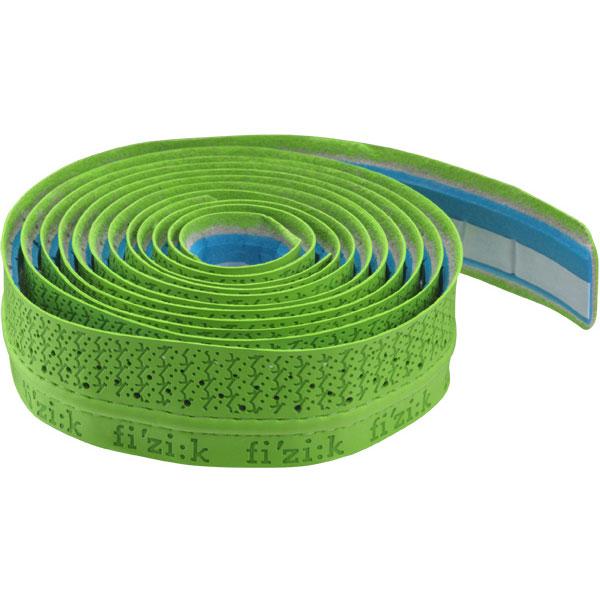 【特急】フィジーク Bar Tape (パフォーマンス) タッキーロゴ入り(3mm) グリーン バーテープ
