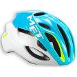 【現品特価】メット リヴァーレ HES シアン×ホワイト ヘルメット