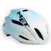 メット マンタ HES ホワイトライトブルー ヘルメット
