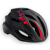 メット リヴァーレ HES ブラック×ピンク ヘルメット