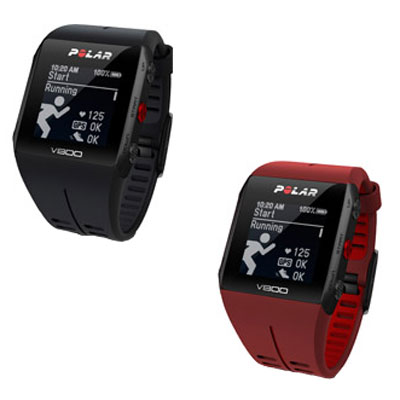 ポラール V800 2 HR GPS リストバンド型 心拍計 活動量計 センサー付き