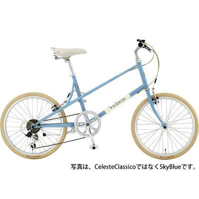 【】17ビアンキ MINIVELO-6 LADY Celeste Classico