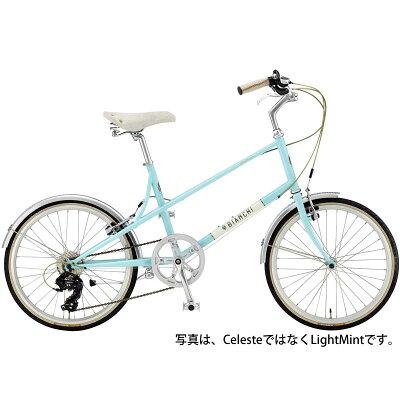 【】17ビアンキ MINIVELO-7 LADY Celeste
