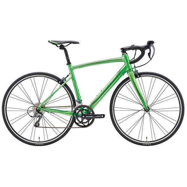 【代引不可】17メリダ RIDE 80 グリーン(ブラック)