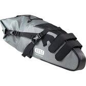 【あす楽】R250 防水大型サドルバッグ ラージ グレー