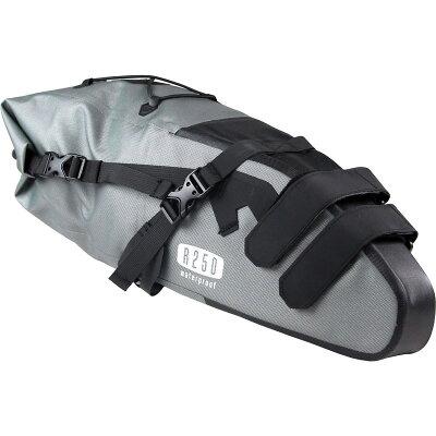 【あす楽】R250防水大型サドルバッグラージグレー