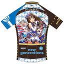 【代引不可】GSR Gear 「アイドルマスター シンデレラガールズ」new generations 渋谷凛 サイクルジャージ 190830