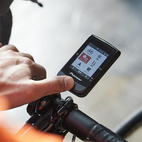 【あす楽】パイオニア SGX-CA600 パワー表示対応サイクルコンピューター GPS、Wi-Fi、ANT+、Bluetooth対応