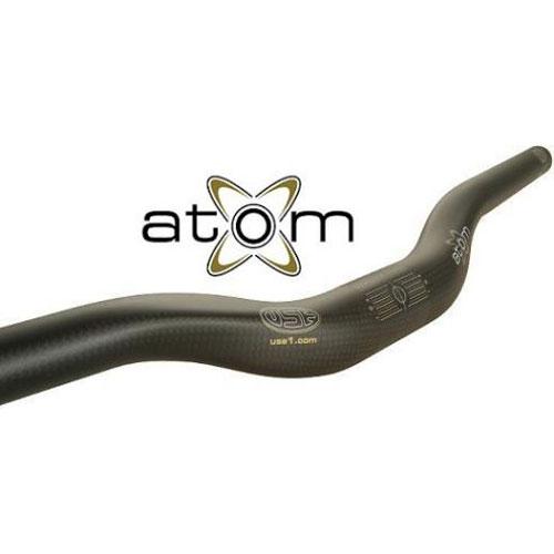 USE アトム CFバー RISER バークランプ径:25.4mm MTBハンドル 【自転車】【マウンテンバイクパーツ】【USE】