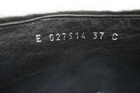 【】【美品】シャネルCHANELココ・シャネルファンタジーフェイクファーココマークロゴファーレディースブーツ3723,5cm