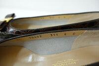 【】フェラガモSalvatoreFerragamo靴パンプスレディースヴァラリボンサイズ522,5cm人気エナメルレザー革