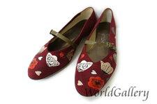 【美品】【中古】フェラガモFerragamoレディース靴パンプススエードレザーサイズ6,524cm人気