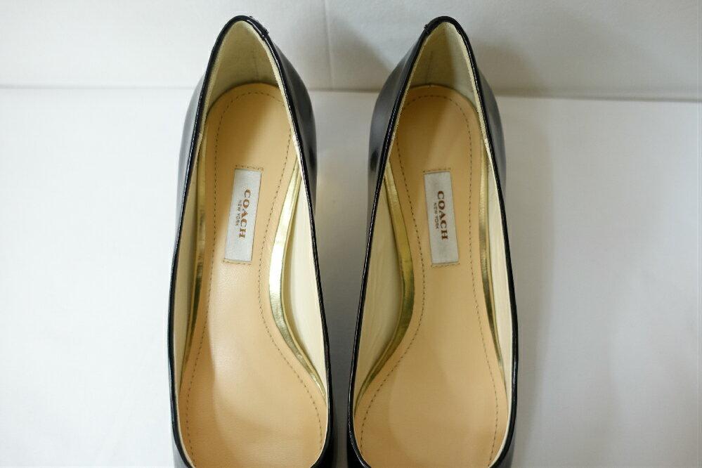 【未使用】【展示品】【新品同様】コーチCOACHレディース靴