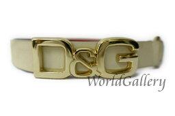 D&G【ディーアンドジー】 ベルト /レザー レディース