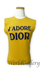 Christian Dior【クリスチャンディオール】 タンクトップ /コットン100% レディース