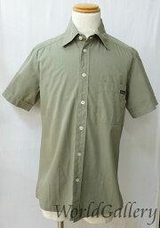 D&G【ディーアンドジー】 半袖シャツ /コットン100%仕様左胸ポケット有 男女兼用