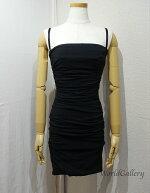 【中古】DOLCE&GABBANAドルチェ&ガッバーナドルガバレディースファッションドレスワンピースサイズ38Black黒ブラック