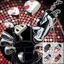 ワールドイーグル F-01α メンズ13点ゴルフクラブフルセット【右用】【ゴルフクラブセット】【初心者 初級者 ビギナー】【ポイント2…