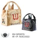 MU SPORTS エムユースポーツ ポーチ 703C1022