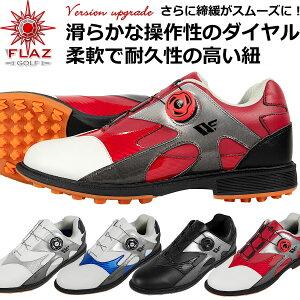 2021年モデル 無料特典付き ゴルフ メンズ スパイクレス シューズ ダイヤル式ダイニーマ紐を採用 軽量 柔らか設計なので歩きやすく疲れにくい 男性用靴 多少の雨や水の侵入を防ぐ防水性能 スニーカータイプ 【add-option】