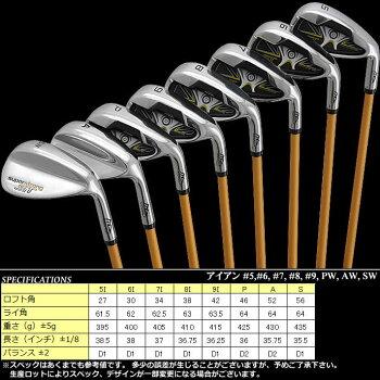 MDゴルフスーパーストロングSTメンズアイアン8本セットフレックスR【送料無料】【半額以下】【ポイント2倍】【RCP】【あす楽】