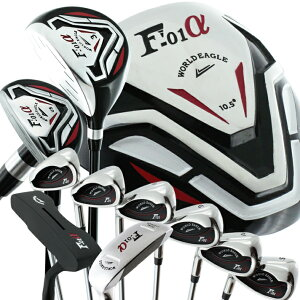 World Eagle F-01 Cross Model Men's 13-Point Golf Club Set Flex Left Use [Beginner Beginner Beginner] [add-option]