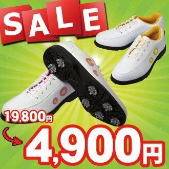 GS300 레이디스 골프 스파이크 슈즈 ts01 fs3gm