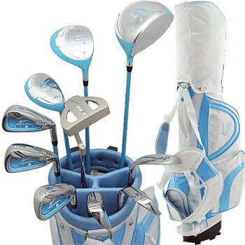 WORLDEAGLEFL-01★V2レディース13点ゴルフクラブセット2011年モデル