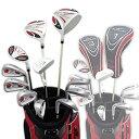 ワールドイーグル 5Z-WHITE メンズゴルフクラブ14点フルセット 4色から選べるバッグ!右用の商品画像
