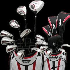MD GOLF オーガスタ 2012 SS-2バッグ付き メンズ15点ゴルフクラブセット! 右用