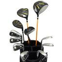 ワールドイーグル 5Z-BLACK メンズゴルフクラブ14点フルセット 4色から選べるバッグ!【右用】【あす楽】