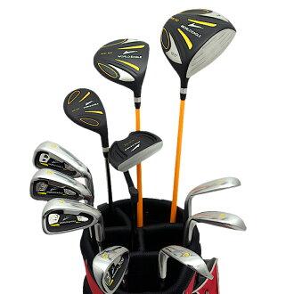 월드이 글 5Z-BLACK 남성 골프 클럽 14 점 풀 세트 레드 가방 Ver. 오른쪽에 fs3gm