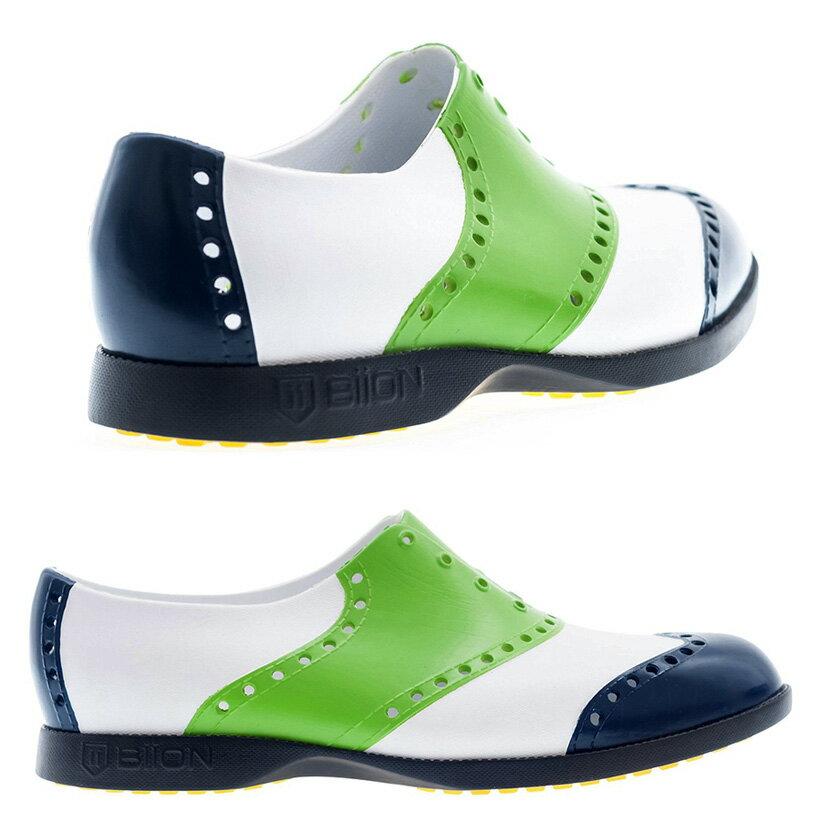 快適な履き心地!BiiONゴルフシューズBOW-1132バイオン,ゴルフ,BiiON,カナダ,スパイクレス,お洒落,街歩き,シューズ,トラディショナル,ラウンド