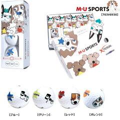 MU SPORTS エムユースポーツ 3ピースボール 1スリーブ 703V6930[ワールドゴルフ]