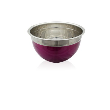 パンチングボウル ざる 調理器具 キッチンツール ステンレス ザル キッチン用品 料理 クッキング 台所 20cm ピンク