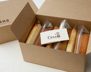 静岡のシフォンケーキ店Canaのおためしシフォン6個セット 価格2,160円 (税込)