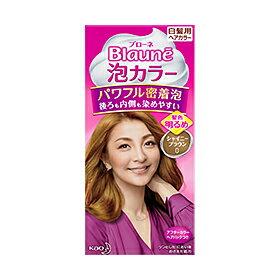 花王ブローネ泡カラー 0 シャイニーブラウン 24個セットKao Blaune 4901301287014 全体染め向きの泡タイプ白髪染め。もみこむだけで「パワフル密着泡」に変化。白髪を深く染めて、美しい髪色に。