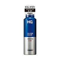 資生堂 HG スーパーハードムース 硬い髪用180g Shiseido HG SUPER HARD MOUSSE x36個セット 4901872899463 硬い髪・くせ毛にしなやかさを与え、まとまりやすく強力セット