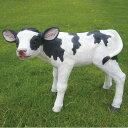 子牛の置物 9570H うし 動物 置物 オブジェ ガーデン オーナメント ガーデニング ガーデンオブジェ アニマル リアル 庭 インテリア