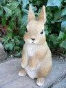 うさぎの置物 ウサギ ラビットHB 兎 N11964 オーナメント ガーデン オブジェ 置物 …