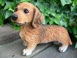 犬の置物 ミニチュアダックスフンド おまけ 9395H2773 いぬ イヌ 動物 オーナメント ガーデン/犬/置物 オーナメント ガーデン ガーデニング 庭 オブジェ 陶器