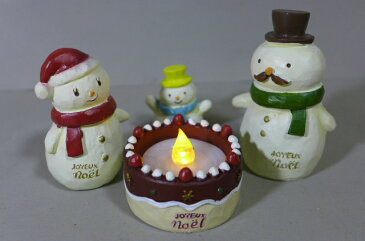 クリスマスケーキキャンドル5品セット 6XM10 LEDキャンドルホルダー サンタクロース クリスマス 飾り 雑貨 置物 オブジェ 置き物 ディスプレイマスコット ガーデンマスコット パーティー 雑貨 ツリー 飾り