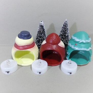 クリスマスキャンドル8品セット 8XM5 LEDキャンドルホルダー サンタクロース クリスマス 飾り 雑貨 置物 オブジェ 置き物 ディスプレイ マスコット ガーデンマスコット パーティー 雑貨 ツリー 飾り