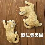 猫の置物茶トラ猫Y87QYキャットガーデンオブジェCAT動物オーナメントネコ雑貨ガーデンオブジェガーデニングインテリアマスコットアニマルリアルディスプレィねこグッズ