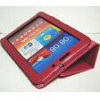 Galaxy Tab 7.7 Plus ケース/小型品 SC-01E/スタンドB型/合皮/ピンク/桃色【クリポス送料無料】