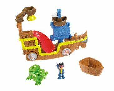 Fisher Priceフィッシャープライス製 ジェイクとネバーランドの海賊達 バストイ(お風呂のおもちゃ)
