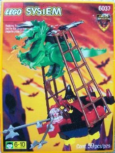 Lego (レゴ) System 6037 Witch's Windship Fright Knights ブロック おもちゃ