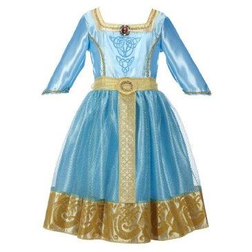 ディズニー メリダとおそろしの森 なりきり 変身 ドレス キッズ 子供用 ハロウィン コスチューム 仮装 ク