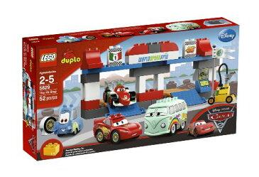 レゴ デュプロ カーズ2 ピットストップ 5829 日本未発売品